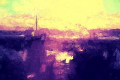 NYC Sunset Abstract II-Philippe Hugonnard-Giclee Print