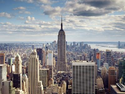 NYC the Empire-Nina Papiorek-Photographic Print