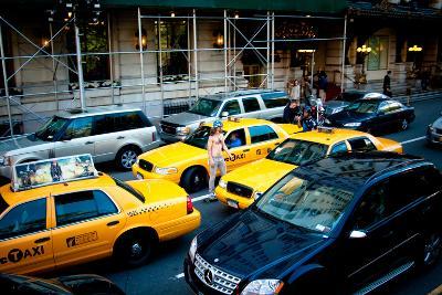 NYC Traffic-Erin Berzel-Photographic Print