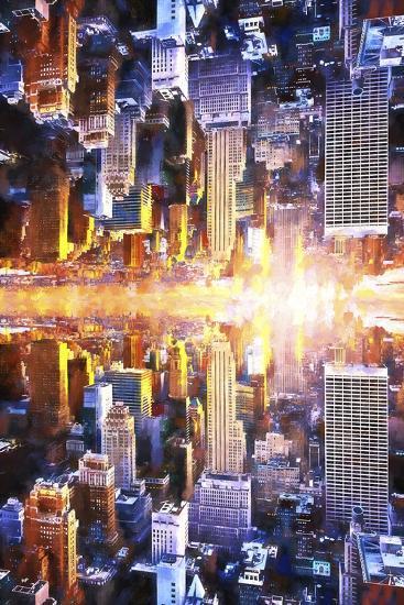 NYC Twin-Philippe Hugonnard-Giclee Print