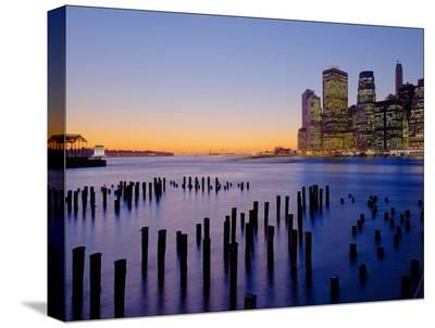 NYC012-AJ Messier-Stretched Canvas Print