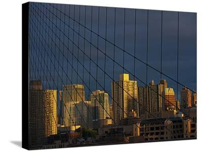 NYC-AJ Messier-Stretched Canvas Print