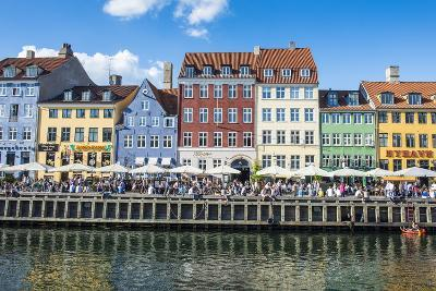 Nyhavn, 17th Century Waterfront, Copenhagen, Denmark, Scandinavia, Europe-Michael Runkel-Photographic Print