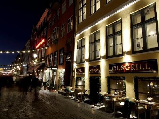 Nyhavn at Christmas, Copenhagen, Denmark, Scandinavia-Sergio Pitamitz-Photographic Print
