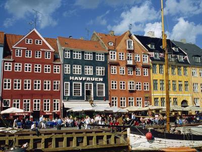 Nyhavn, Copenhagen, Denmark, Scandinavia, Europe-Robert Harding-Photographic Print