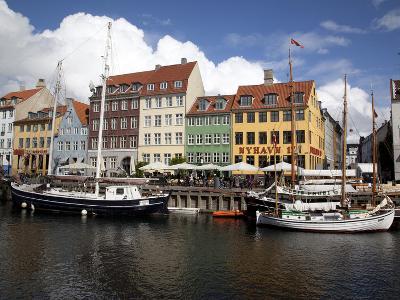 Nyhavn, Copenhagen, Denmark, Scandinavia, Europe-Frank Fell-Photographic Print