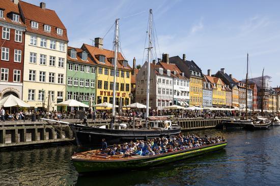 Nyhavn, Copenhagen, Denmark, Scandinavia, Europe-Yadid Levy-Photographic Print