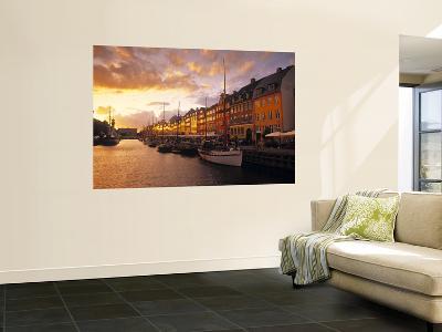 Nyhavn Harbour, Copenhagen, Denmark-Jon Arnold-Giant Art Print