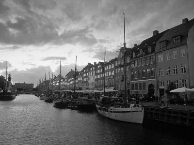 Nyhavn Harbour, Copenhagen, Denmark-Jon Arnold-Photographic Print