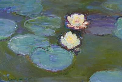 Nympheas, 1897-8-Claude Monet-Giclee Print