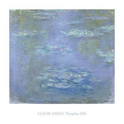 Nympheas, 1903-Claude Monet-Art Print