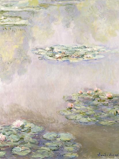 Nympheas, 1908-Claude Monet-Giclee Print