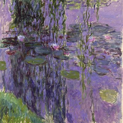 Nympheas, 1916-19-Claude Monet-Giclee Print