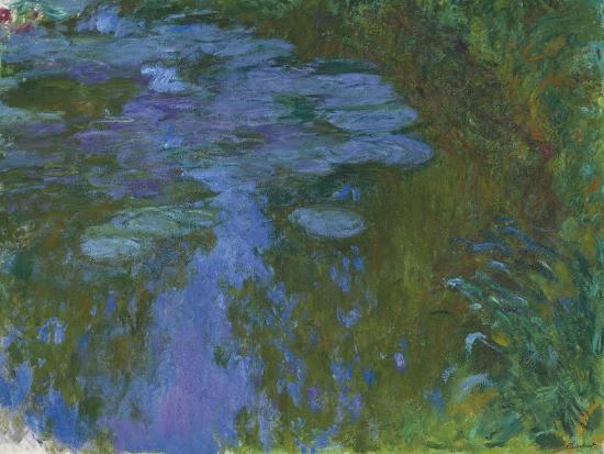 Nympheas, C. 1914-1917-Claude Monet-Giclee Print