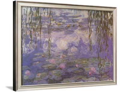 Nympheas-Claude Monet-Framed Art Print