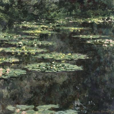 Nymphéas-Claude Monet-Giclee Print
