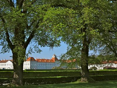 Nymphenburg Palace, Outdoor Facility, Lime Trees, Spring-Uta Horst-Framed Photographic Print