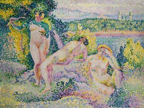 Nymphes. 1906-Henri Edmond Cross-Giclee Print