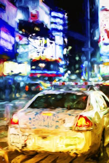 NYPD - In the Style of Oil Painting-Philippe Hugonnard-Giclee Print