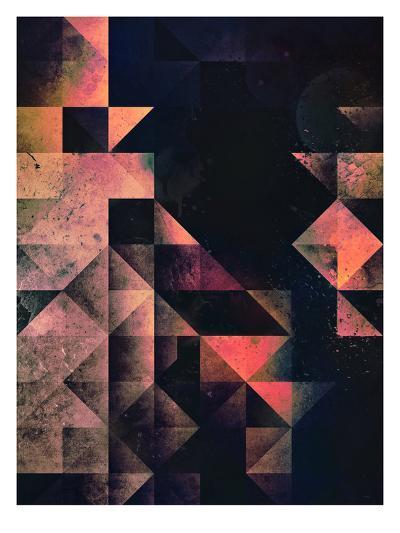 nyxt chyptyr-Spires-Art Print