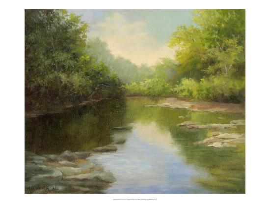 O'Bannon Summer Creek-Mary Jean Weber-Art Print