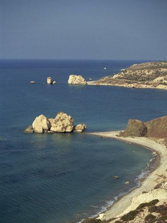 Aphrodite's Rocks, South Coast, Cyprus, Mediterranean, Europe