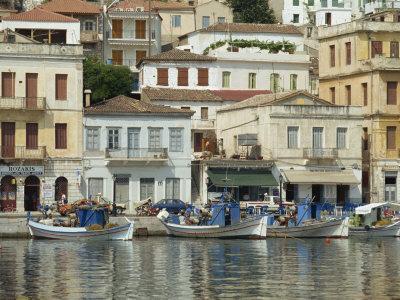 Harbour, Gythio, Lakonia, Mainland, Greece, Europe