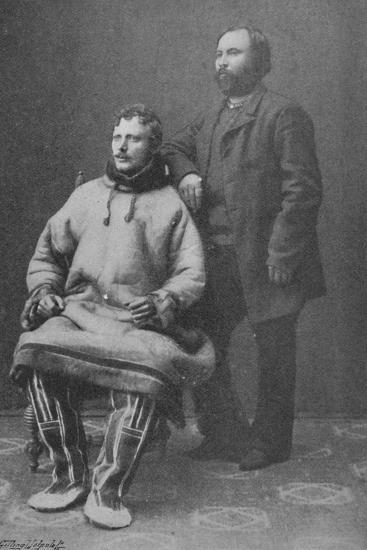 'O. Christofersen and A. Trontheim', 1897-Unknown-Photographic Print