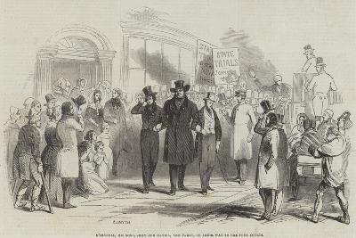 O'Connell, His Sons, John and Daniel, and Party, on their Way to the Four Courts--Giclee Print