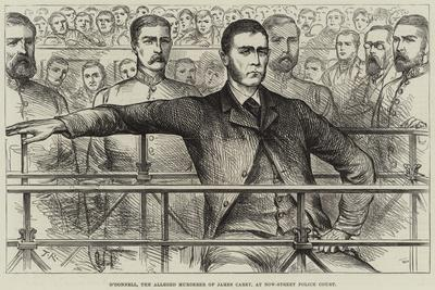 O'Donnell, the Alleged Murderer of James Carey, at Bow-Street Police Court--Giclee Print