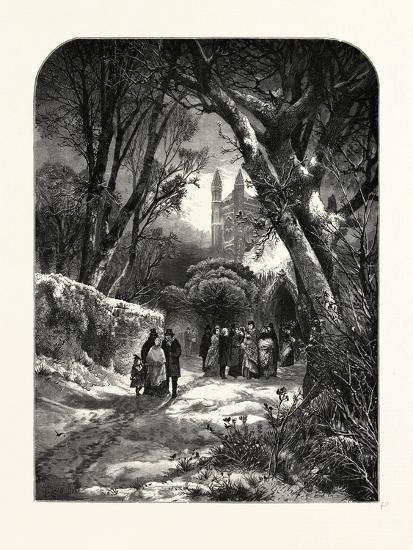 O Fair as Hope Was the New Year's Morn--Giclee Print