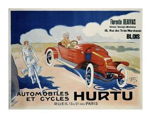 Hurtu Automobiles et Cycles by O'Galop