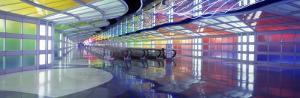 O'Hare Airport Concourse, Chicago, Illinois, USA