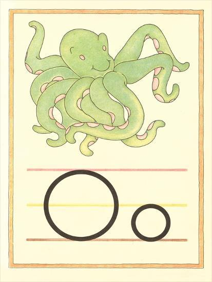 O Is for Octopus--Art Print