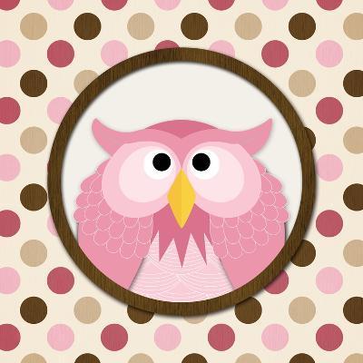 O Is for Owl II-N^ Harbick-Art Print