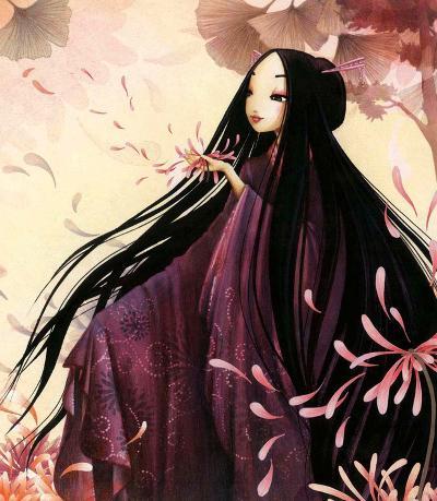 O-Kiku-Misstigri-Art Print