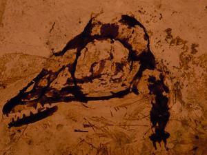 Earliest Known Bird Nestling Which Has Dinosaur-Like Skull and Teeth by O. Louis Mazzatenta