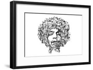 Jimi Hendrix by O.M.