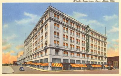 O'Neill's Department Store, Akron, Ohio