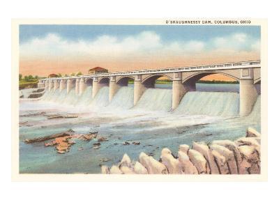 O'Shaughnessy Dam, Columbus, Ohio--Art Print