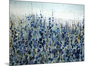 Blue Hollyhock by O'Toole O'Toole
