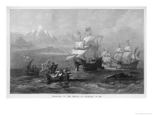 Fernao De Magalhaes Discovers the Straits of Magellan by O.w. Brierley