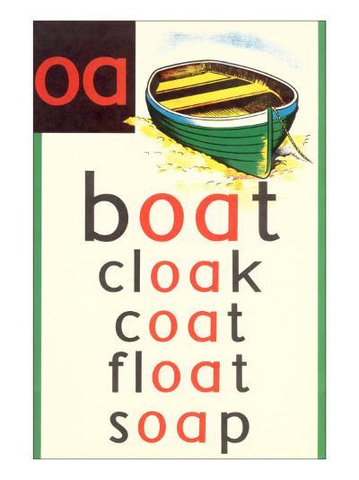 OA in Boat--Art Print