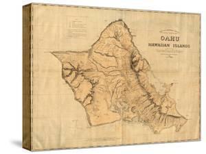 Oahu, Hawaiian Islands, c.1881