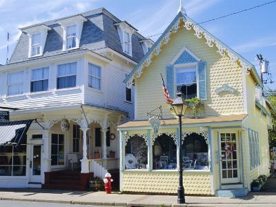 Oak Bluffs, Martha's Vineyard, Cape Cod, Massachusetts, USA-Fraser Hall-Photographic Print
