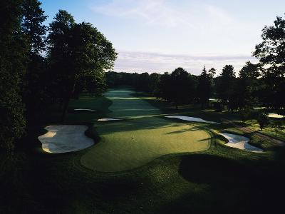 Oak Hill Country Club, Hole 8-Stephen Szurlej-Premium Photographic Print