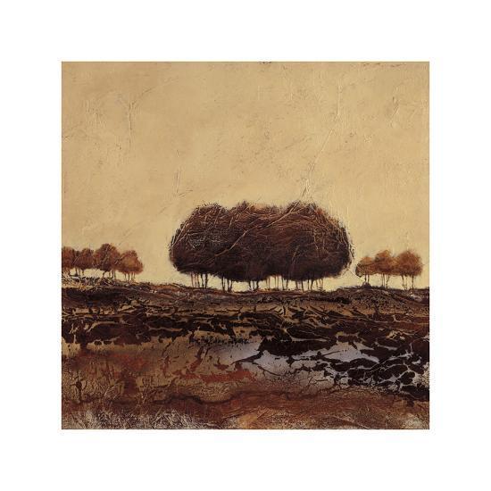 Oak Trees-Kerry Darlington-Giclee Print