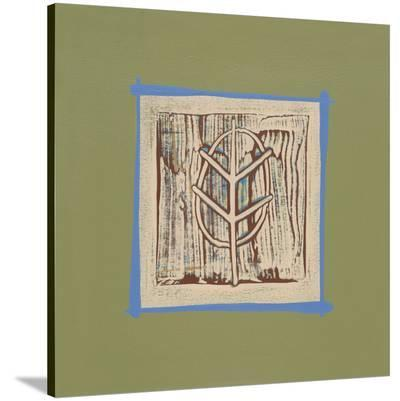 Oak-P^G^ Gravele-Stretched Canvas Print