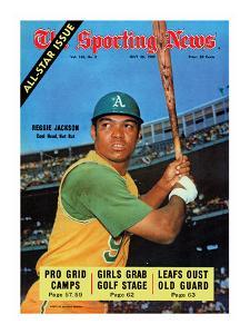 Oakland Athletics OF Reggie Jackson - July 26, 1969