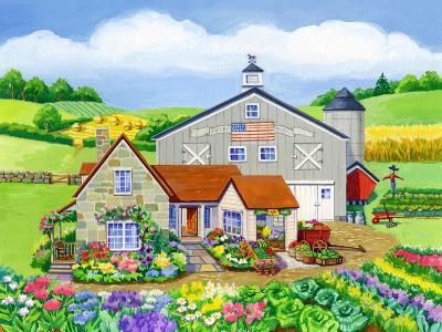 Oakley Farm-Geraldine Aikman-Giclee Print